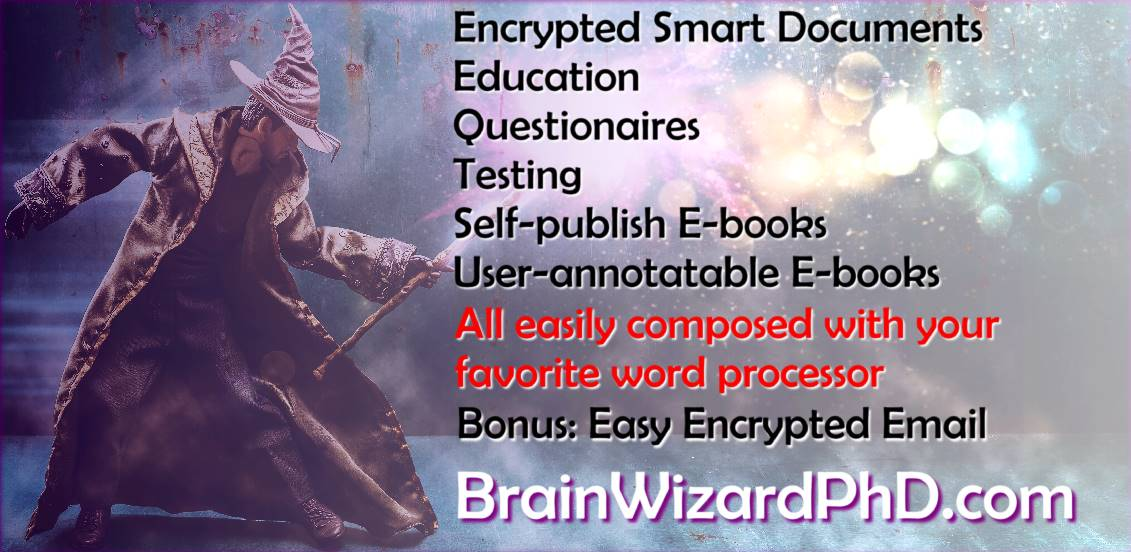 BrainWizardPhD simplifies generation of quizzes and questionnaires