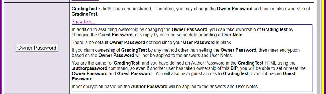 BrainWizardPhD supports individual password-protected accounts and files